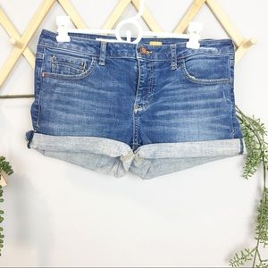 ANTHROPOLOGIE {pilcro} // stet cuffed shorts